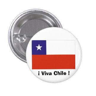 Bandera Chile VII Button