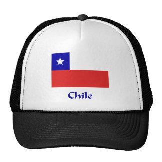 Bandera chilena gorro