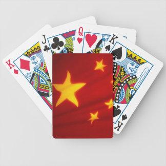 BANDERA CHINA CARTAS DE JUEGO