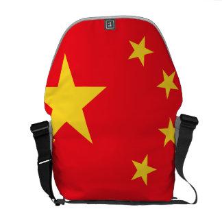 Bandera china bolsa messenger