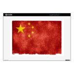Bandera china calcomanía para 38,1cm portátil