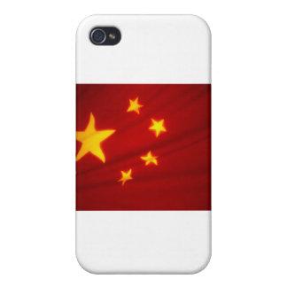 Bandera china iPhone 4 fundas