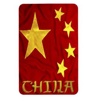 Bandera China Rectangle Magnet