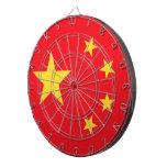 Bandera china tablero de dardos