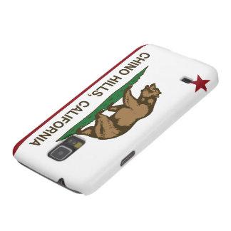 Bandera Chino Hills del estado de California Carcasa De Galaxy S5