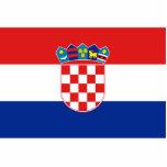 Bandera civil bandera de Croacia, Croacia Esculturas Fotográficas