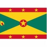 Bandera civil bandera de Grenada, Groenlandia Escultura Fotográfica