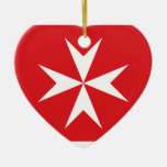 Bandera civil bandera de Malta, Maldivas Ornaments Para Arbol De Navidad