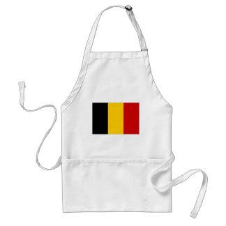 Bandera civil de Bélgica Delantal