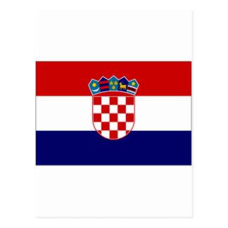 Bandera civil de Croacia Postal