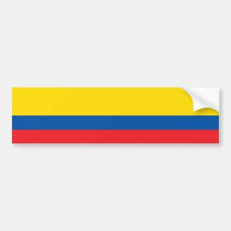 Bandera (civil) de Ecuador/del Ecuadorian Pegatina Para Auto
