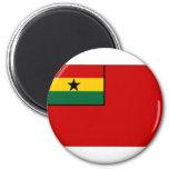 Bandera civil de Ghana Iman Para Frigorífico