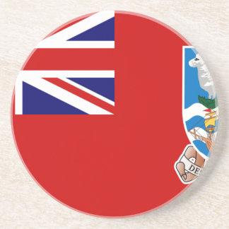 Bandera civil de Islas Malvinas, Reino Unido Posavasos Personalizados