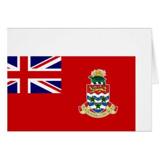 Bandera civil de las Islas Caimán, Reino Unido Felicitacion
