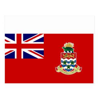 Bandera civil de las Islas Caimán, Reino Unido Tarjeta Postal