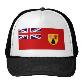Bandera civil de las islas de Caicos de los turcos Gorros Bordados