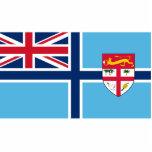 Bandera civil del aire de Fiji, bandera étnica Escultura Fotográfica