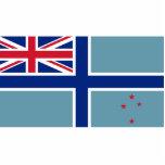Bandera civil del aire de Nueva Zelanda, Nueva Zel Esculturas Fotográficas
