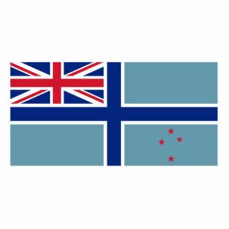 Bandera civil del aire de Nueva Zelanda, Nueva Zel Escultura Fotográfica