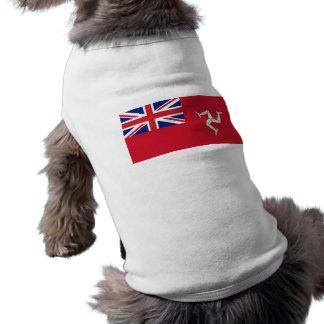 Bandera civil el hombre de la isla Reino Unido Ropa De Perros