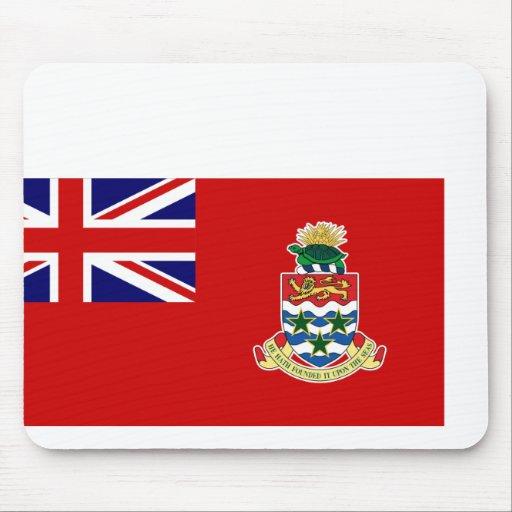 Bandera civil las Islas Caimán, Reino Unido Alfombrilla De Raton