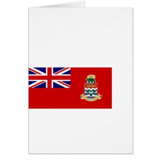 Bandera civil las Islas Caimán, Reino Unido Felicitación