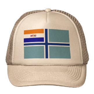 Bandera civil Suráfrica Suráfrica del aire Gorros Bordados