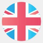 Bandera clásica de Union Jack Británicos (Reino Un Etiqueta