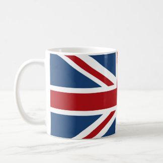 Bandera clásica de Union Jack Reino Unido Taza Clásica