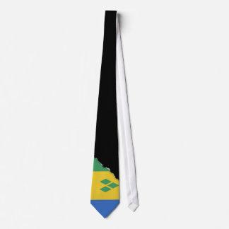 Bandera clásica de Vincent de santo Corbatas