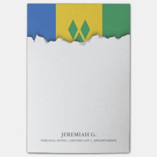 Bandera clásica de Vincent de santo Post-it® Notas