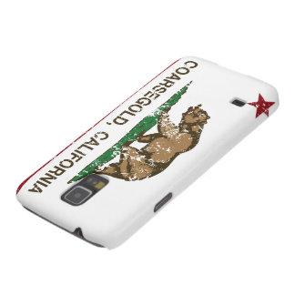 Bandera Coarsegold de la república de California Carcasas Para Galaxy S5