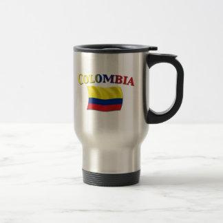 Bandera colombiana 2 taza