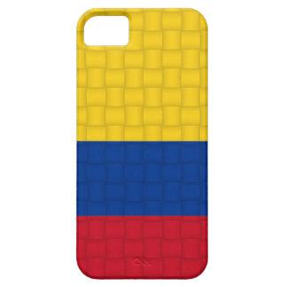 Bandera colombiana de Colombia iPhone 5 Carcasa