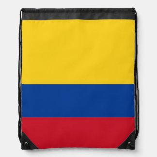 Bandera colombiana mochila