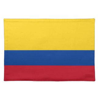 Bandera colombiana MoJo Placemat Manteles