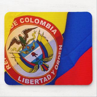 Bandera colombiana Mousepad Alfombrilla De Ratones