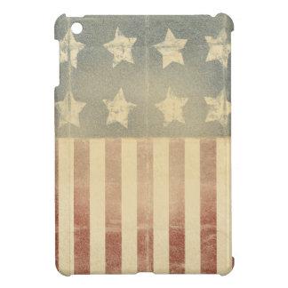 Bandera colonial americana patriótica apenada