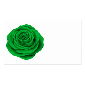 Bandera color de rosa libia tarjetas de visita