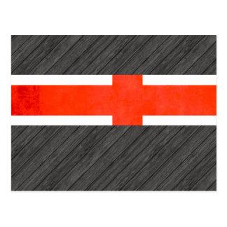 Bandera colorida de islandés del contraste tarjeta postal