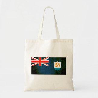 Bandera colorida del Anguillan del contraste Bolsas