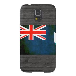 Bandera colorida del Anguillan del contraste Carcasas De Galaxy S5