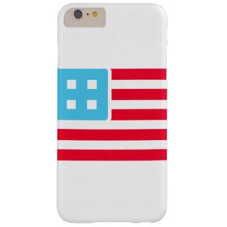 ¡Bandera contable - vaya de largo! Funda De iPhone 6 Plus Barely There