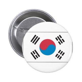 Bandera coreana pin