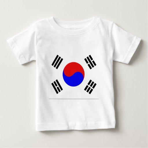Bandera coreana polera