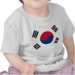 Bandera coreana Seul S.K. koreans Pride de la Core Camiseta