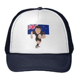 Bandera corriente de Nueva Zelanda de la bola del  Gorro De Camionero