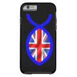 Bandera cristiana británica del símbolo de los