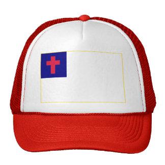 Bandera cristiana gorra