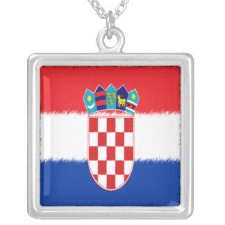 Bandera croata collar personalizado